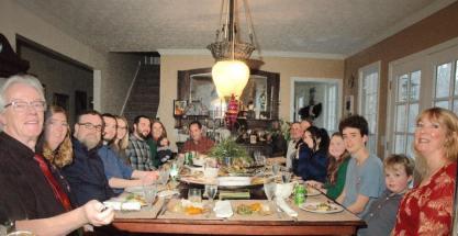 Family dinner 2018